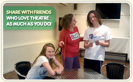 Share with friends who love theatre as much as you do