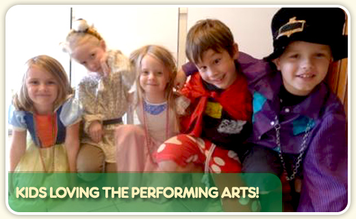 Kids loving the performing arts
